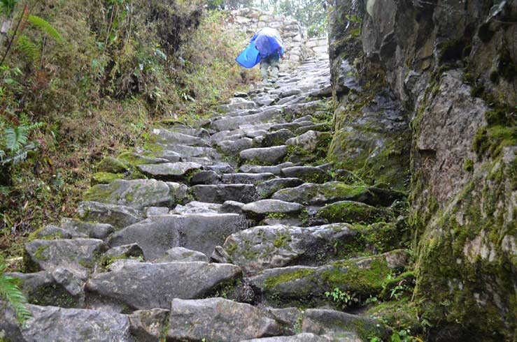 Climbing by the Camino Inca