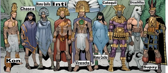 IncasGods