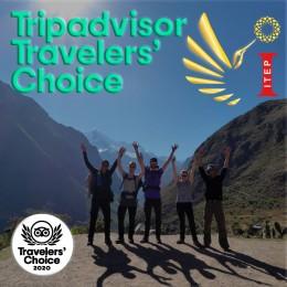ITEP Travel wins 2020 Tripadvisor Travelers' Choice Award