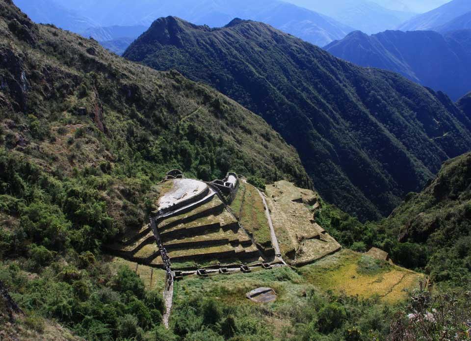 Phuyupatamarka - Inca Trail to Machu Picchu