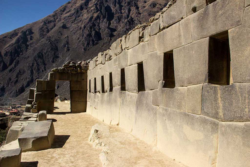 Temple of the Ten Windows in Ollantaytambo