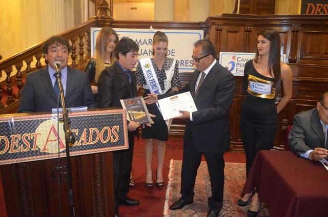 Premiación del Congreso de La Republica