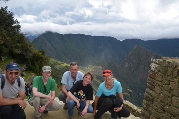 easy hike to machu picchu