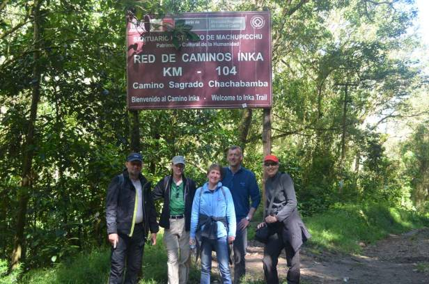Inca Trail 3 days to Machu Picchu - Km 104 - Day 1