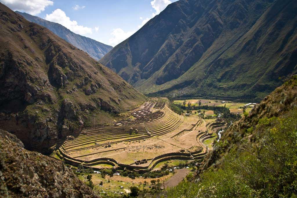 Llactapata - Inca Trail - Day 2