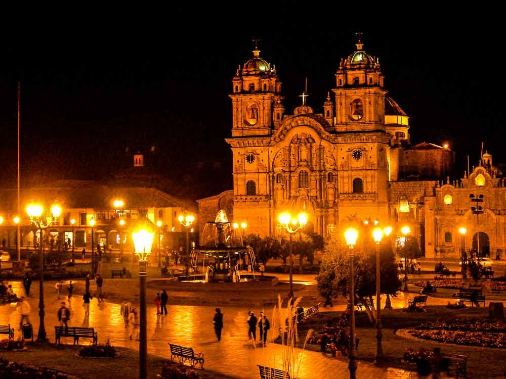 cusco main square 5 days luxury tour