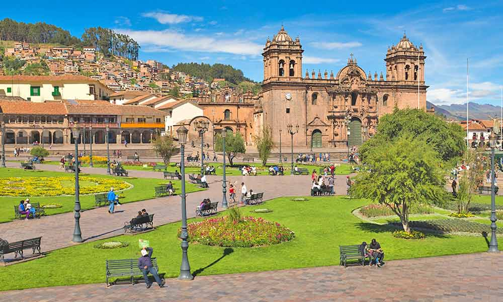cusco main square 6 days tour
