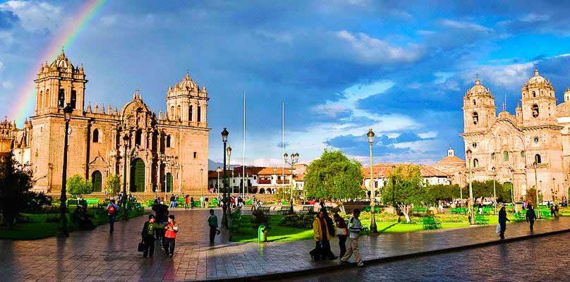 plaza de armas cusco 5 days living tourism tour